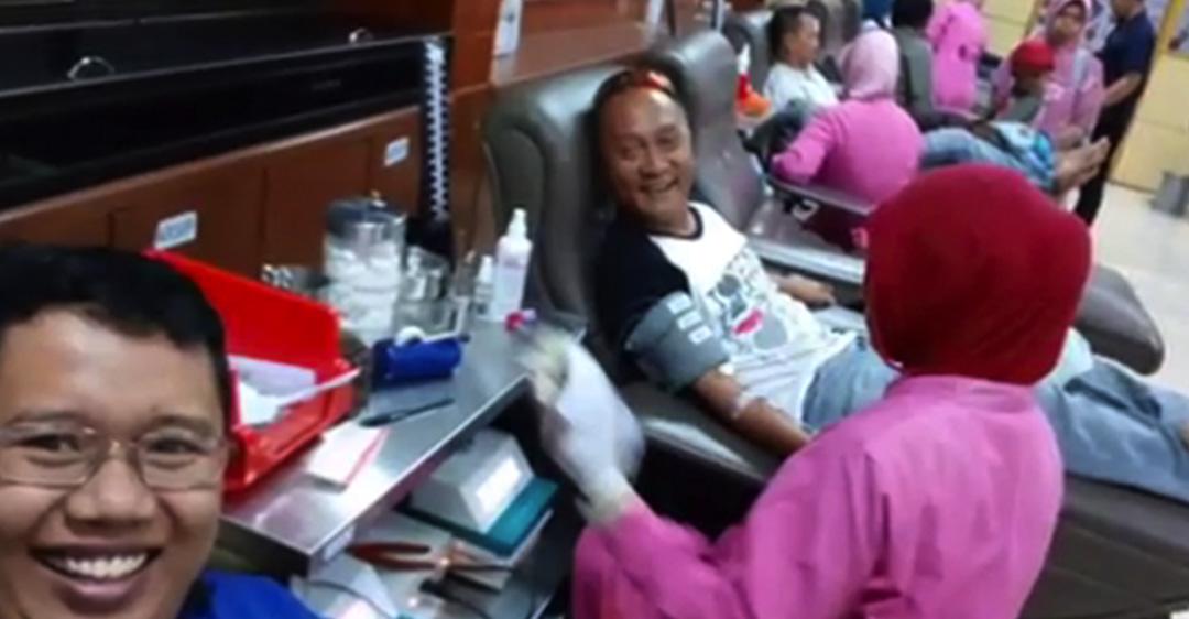 Donor Darah ke 4 Chapter Jatim