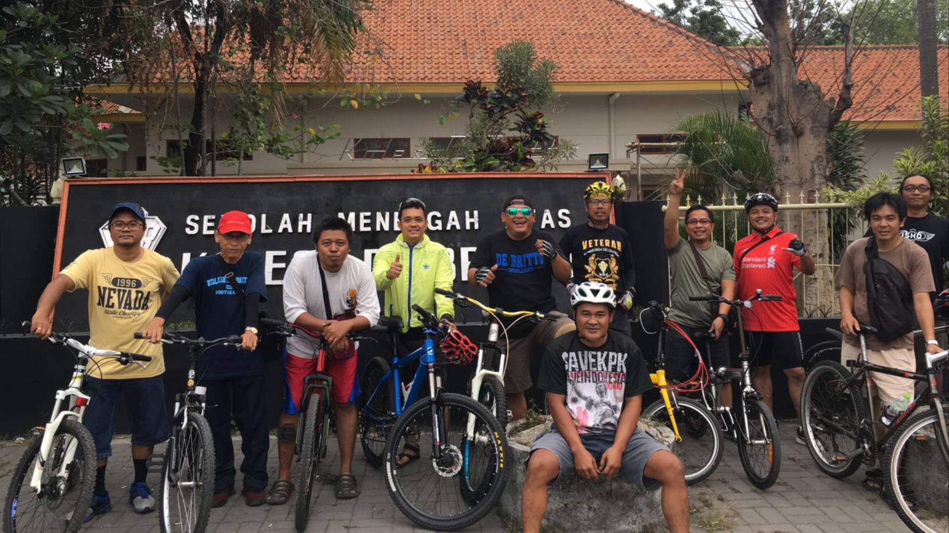 Gowes Perdana JB Bike Community