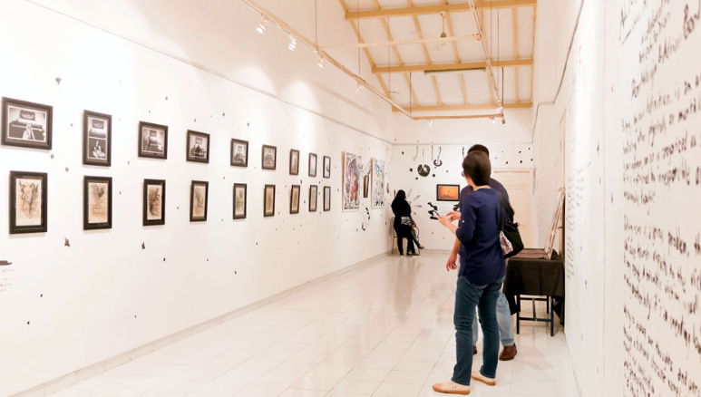 Kolaborasi Seni Alumni dan Siswa