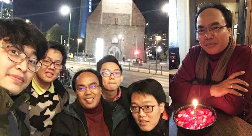 Pertemuan Pak Prih dan Alumni De Britto di Jerman