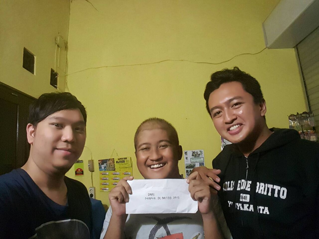 Dukungan Untuk Mas Ganang Madyasta JB13