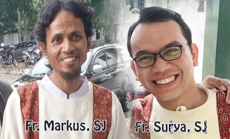 Tahbisan Diakon Frater Surya (JB05) dan Frater Markus (JB95)