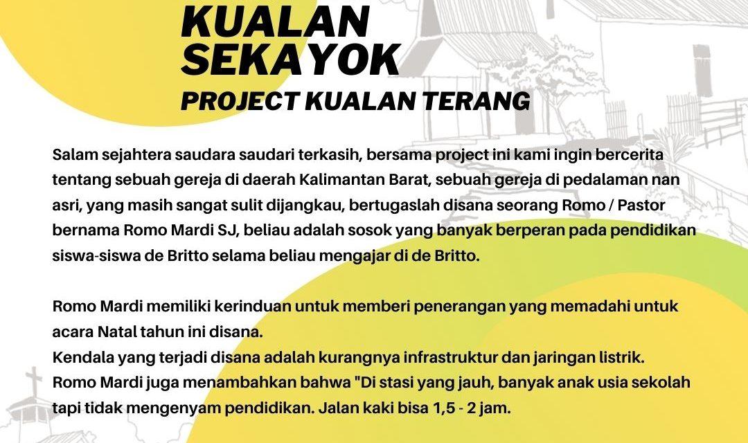 Bantingan peduli : Kualan terang